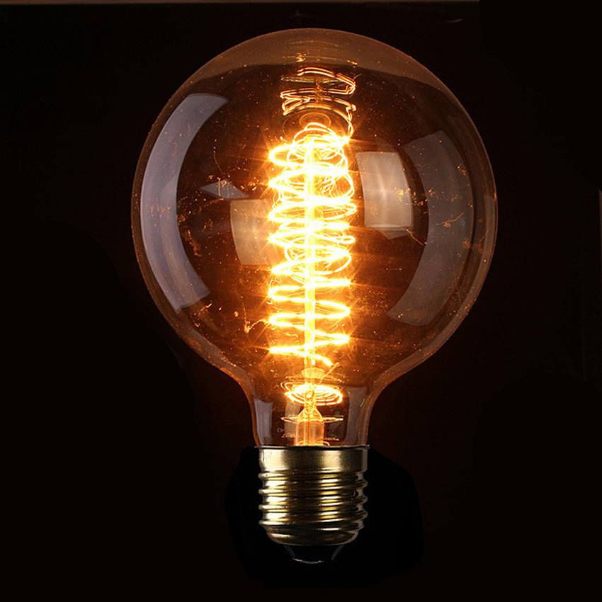 2PCS E27 60W 220V Light Bulbs Vintage Retro Industrial Style Edison Lamp (Intl)