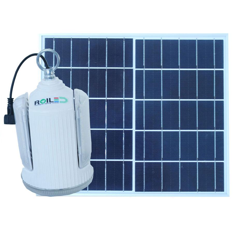 Đèn bóng búp năng lượng mặt trời 100W RoiLed sử dụng trong nhà RT100W