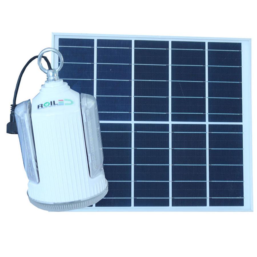 Đèn bóng búp năng lượng mặt trời 60W RoiLed sử dụng trong nhà RT60W
