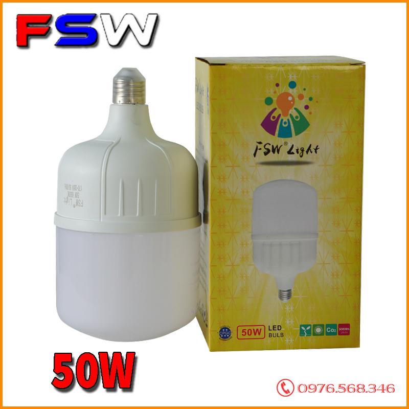 Đèn bulb FSW 50W| đèn búp công suất lớn