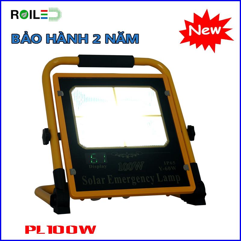 Đèn chiếu sàn, xách tay Roiled PL100W| NLMT