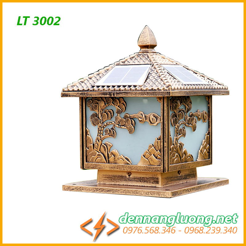 Đèn cổng rào năng lượng mặt trời LT3002