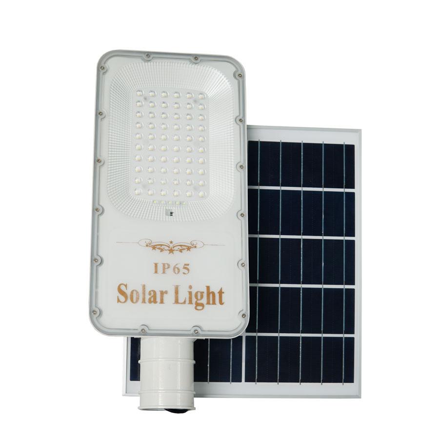 Đèn đường năng lượng mặt trời 100W siêu sáng Solarlight - E100