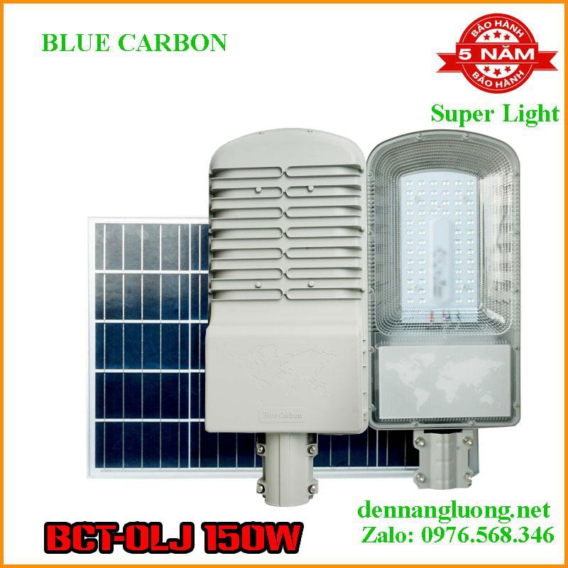 Đèn Đường Năng Lượng Mặt Trời Blue Carbon BCT-OLJ 150W Bảo Hành 5 Năm