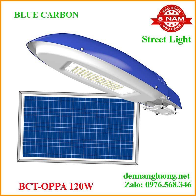 Đèn Đường Năng Lượng Mặt Trời Blue Carbon BCT- OPPA 120W