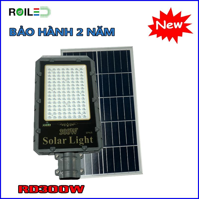 Đèn năng lượng Roiled RD300W  Tấm pin rời
