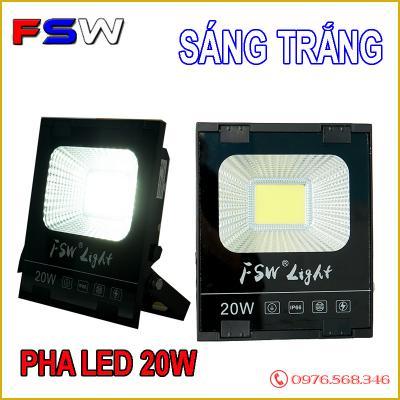 Đèn pha FSW 20W| đèn led ánh sáng trắng