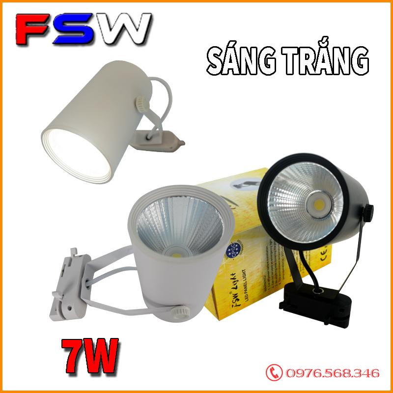Đèn rọi siêu sáng FSW 7W ánh sáng trắng