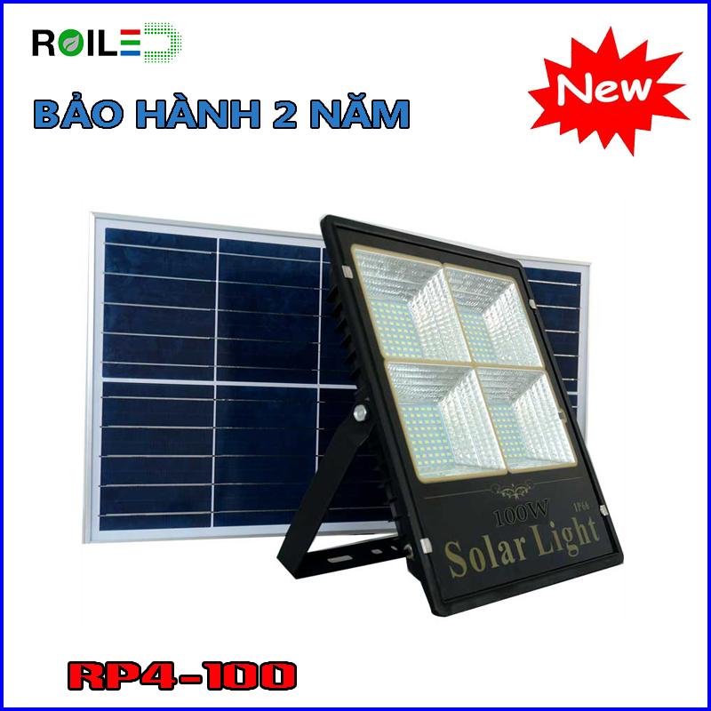 Đèn Roiled RP100W| đèn pha năng lượng mặt trời