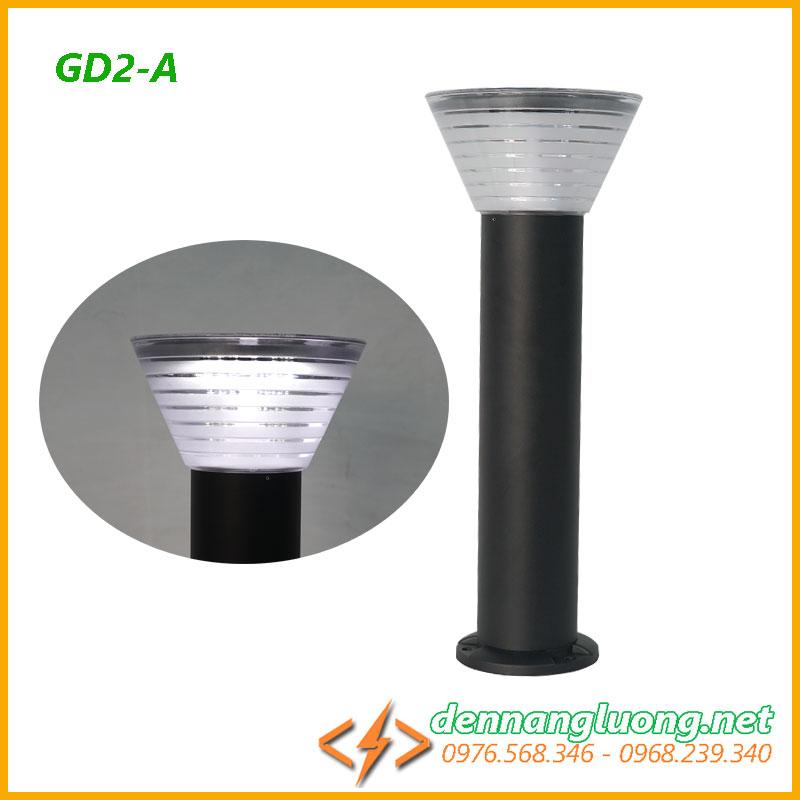 Đèn sân vườn GD2-A| năng lượng mặt trời