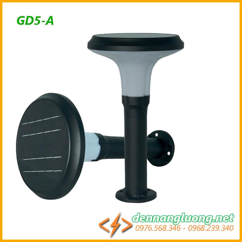 Đèn sân vườn GD5 - A  năng lượng mặt trời