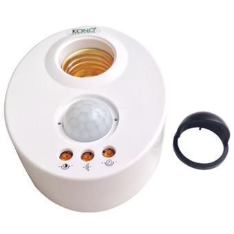 Cảm biến hồng ngoại bật đèn tự động KN-LS9A (Trắng)