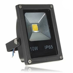 10W Waterproof LED Flood Light Warm White (Intl)