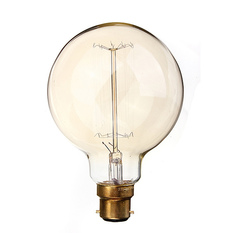 110V 40W Vintage Antique Edison Style Carbon Filamnet Clear Glass Bulb (Intl)