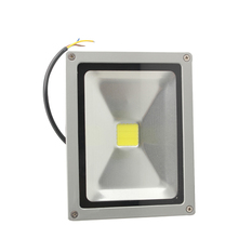 20W LED Flood Light Pure White Outdoor Garden Landscape Lamp Bulb 85-265V (Silver) (Intl)