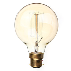 220V 60W Vintage Antique Edison Style Carbon Filamnet Clear Glass Bulb (Intl)