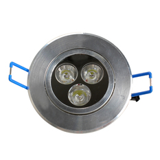 3 LEDs Warm White Ceiling Recessed Down Light (Intl)
