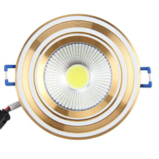 3W 2700-3200K Warm White COB LED Ceiling Light with Transparent Glass (Intl)