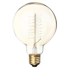 40W E27 G95 Edison Vintage Filamnet Glühbirne Globe Lampe Nostalgie Retro 110V (Intl)