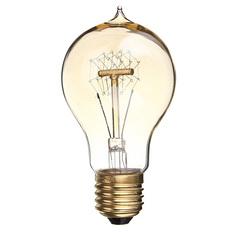 5PCS E27 60W A19 Edison Vintage Filamnet Glühbirne Lampe Birne Nostalgie Retro 220V (Intl)