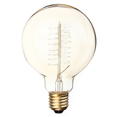 60W E27 G95 Edison Vintage Filamnet Glühbirne Globe Lampe Nostalgie Retro 220V (Intl)