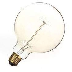 6PCS E27 G125 220V 60W Vintage Antique Incandescent Glass Light Home Decoration Lamp Bulb (Intl)