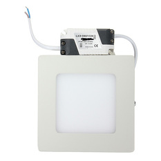 9W 15W 21W Dimmable LED Surface Square Panel Wall Ceiling Down Lights Bulb Lamp Natural White (Intl)