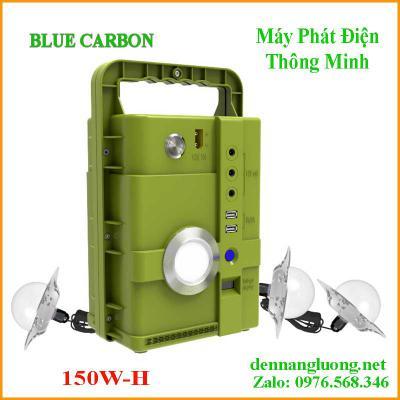 Bình Tích Điện Năng Lượng Mặt Trời DC TIME 150W-H|Blue Carbon