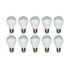 Bộ 10 Bóng Đèn LED bulb 5W (Ánh Sáng Vàng)