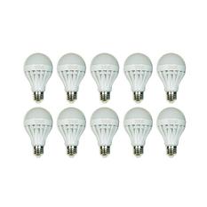 Bộ 10 bóng đèn LED Bulb 9W (Ánh sáng trắng)