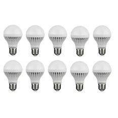 Bộ 10 bóng đèn LED búp 5W (Trắng)