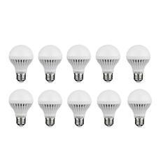 Bộ 10 bóng đèn Led búp 5W (Vàng)
