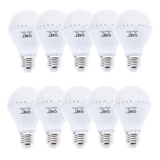 Bộ 10 bóng đèn LED búp 7W (Trắng)