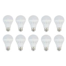 Bộ 10 bóng LED 7W bulb nấm tiết kiệm điện (Trắng sáng)