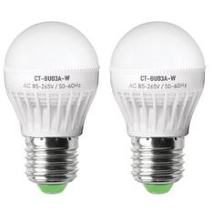Bộ 2 bóng đèn led bulb 3W Legi CT-BU03A-W (Trắng)