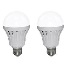 Bộ 2 bóng đèn LED Bulb tích điện thông minh Smartcharge 12W kèm điện trở