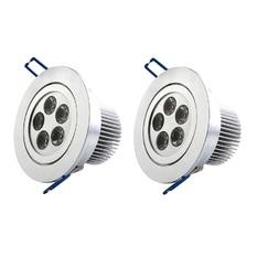 Bộ 2 đèn LED âm trần Phú Thịnh Hưng 3W (Vàng)