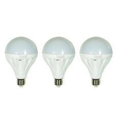 Bộ 3 Bóng Đèn Led Bulb 12W (Ánh sáng Vàng)