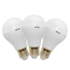 Bộ 3 bóng đèn tiết kiệm điện siêu sáng Verygood 5W (Trắng)