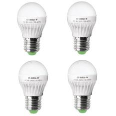 Bộ 4 bóng đèn led bulb 3W Legi CT-BU03A-W (Trắng)