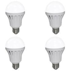 Bộ 4 bóng đèn LED Bulb tích điện thông minh Smartcharge 12W kèm điện trở
