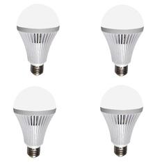 Bộ 4 bóng đèn LED Bulb tích điện thông minh Smartcharge 9W kèm điện trở