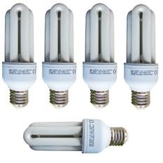 Bộ 5 Bóng đèn Compact Unilife 3U-15W E27 DL (Trắng)