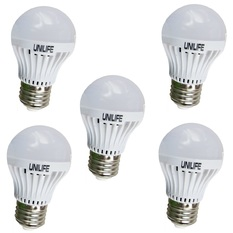 Bộ 5 Bóng đèn Unilife LED A50/3W (Trắng)