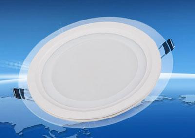 Đèn Âm Trần Kiếng Tròn  6W-3 Màu