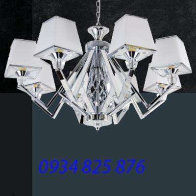 Đèn Chùm Hợp Kim Sang Trọng-HL8089-8