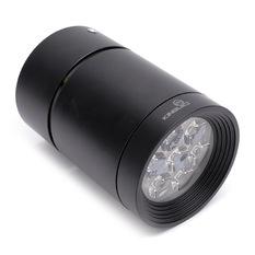 Đèn downlight lắp nổi OBR-7-T-D 6000K (Vỏ đen)