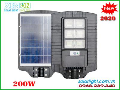 Đèn đường 200w |pin liền thể năng lượng| công suất khủng