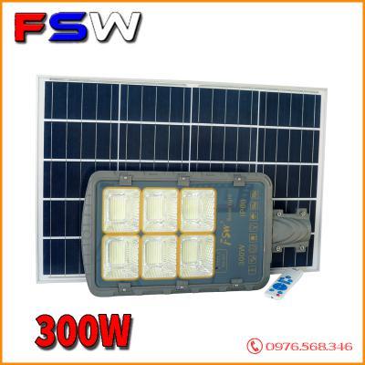 Đèn đường FSW 300W| năng lượng mặt trời cao cấp