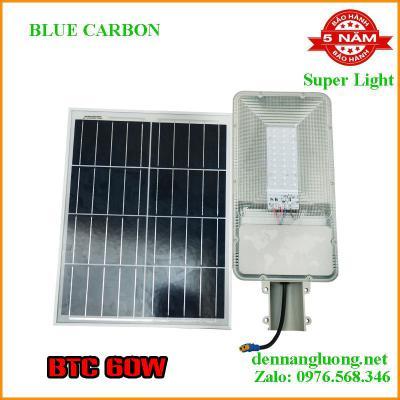 Đèn Đường Năng Lượng Mặt Trời Blue Carbon BCT-OLC 60w Bảo Hành 5 Năm